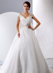 V-neckline Wedding Dresses