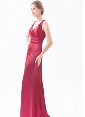 V-neckline Prom Dresses