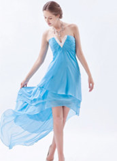 High-low hem Prom Dresses