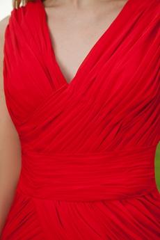 Sheath Mini Length Red Wedding Guest Dress