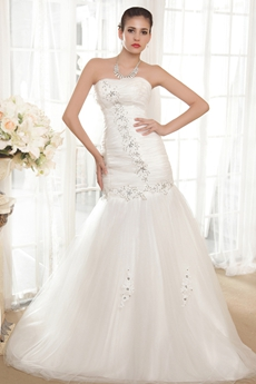 Charming Floor Length Mermaid Wedding Dress Plus Size