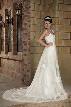 Vintage Straps Trumpet/Mermaid/Fishtail Lace Wedding Dress