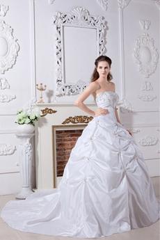 Fantastic Cinderella Ball Gown Wedding Dress 2016