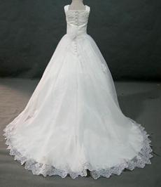 Pretty White Mini Bridal Gown With Bolero