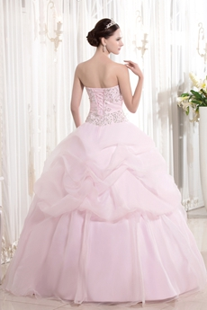31470974ec0 ... Dreamed Sweetheart Neckline Ball Gown Light Pink Quinceanera Dresses  With Embroidery ...