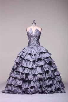Best Silver Quinceanera Dresses for Plus Size