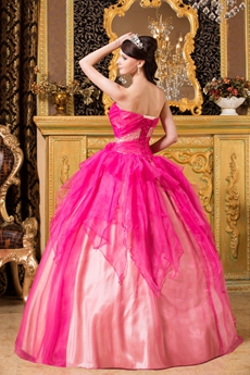 Lively Sweetheart Neckline Ball Gown Floor Length Colorful Quinceanera Dress