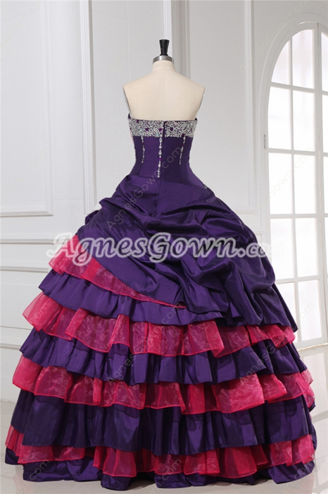 Perfect Quinceanera Dresses Purple