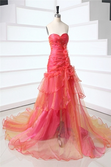Terrific Glamorous Strapless Evening Dresses