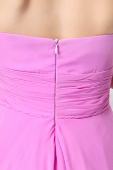 Stunning Plunge Top Halter A-line Knee Length Lilac Wedding Guest Dress