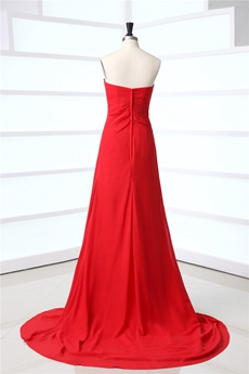 George Red Sweetheart Evening Dresses