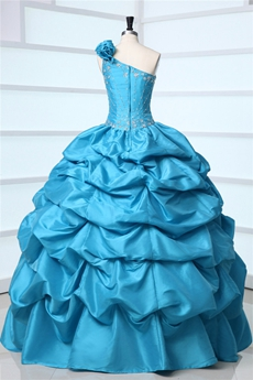 Charming One Shoulder Mexican Quinceanera Dresses