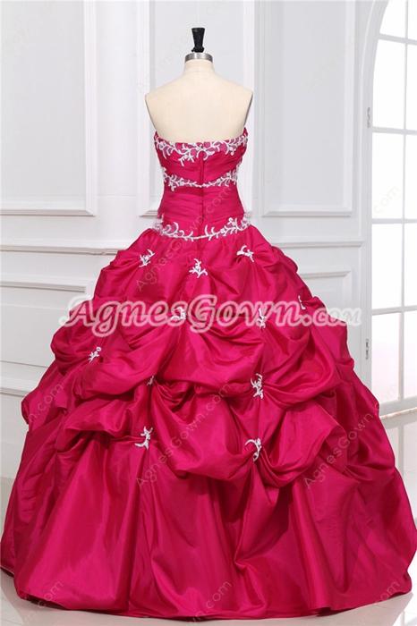 Pretty Fuchsia Quinceanera Dress