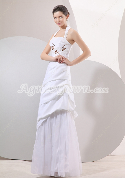 Wonderful Top Halter Princess Floor Length Sweet 15 Dresses
