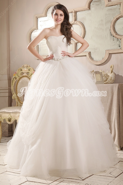 Sweetheart Neckline Ball Gown Cinderella Quinceanera Dress Corset Back