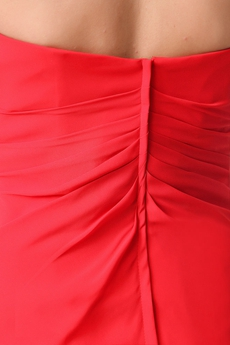 Gorgeous Sweetehart A-line Red Chiffon Celebrity Evening Dress