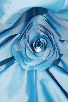 Classic Sweetheart Ball Gown Taffeta Blue Color Sweet 15 Dress