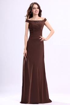 Brown Mother of the Bride Dresses