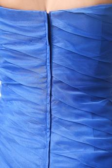 Terrific Sweetheart Layers Royal Blue Mermaid Sweet Sixteen Dress