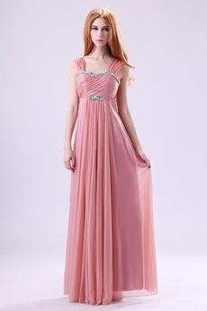 Delish Column Dusty Rose Bridesmaid Dress