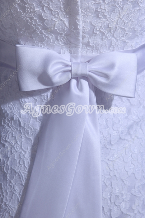 Casual Western Union Cowboy Lace Wedding Dress