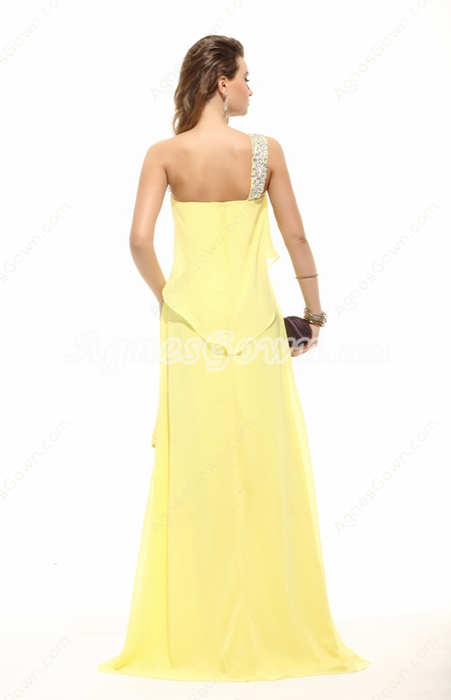 Latest Asymmetrical Cut Homecoming Dress