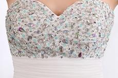 Stunning High Low Beach Wedding Dress