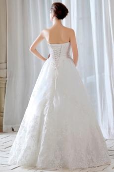 Exquisite Princess Lace Wedding Dress 2016