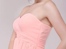 Graduation Dresses,Cute Sweetheart Empire Chiffon Coral Plus ...