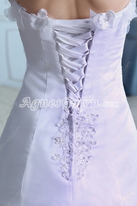 Dazzling Organza Wedding Dress With Bolero