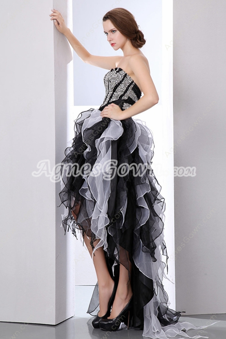 Special Sweetheart Black & White Sweetheart 16 Dress