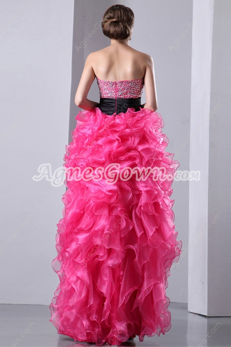 Pretty Hot Pink Sweet Sixteen Dress