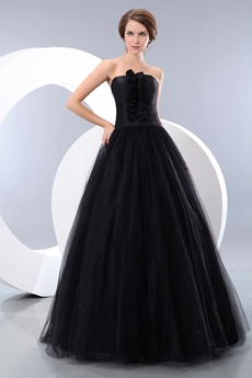 Special Gothic Black Quinceanera Dress