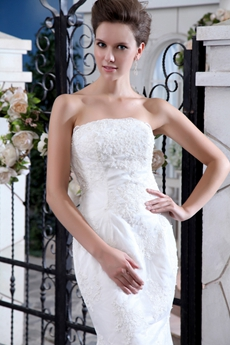 A-line Lace Wedding Dress 1950