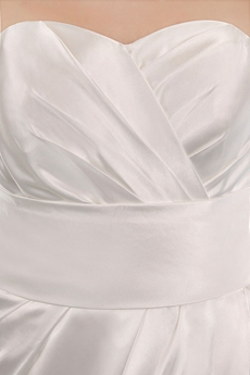 Modest Ivory Satin Mother Of The Groom Dress