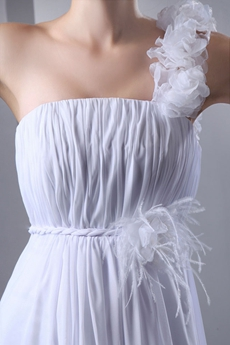 Charming One Straps Empire Maternity Wedding Dress
