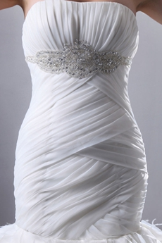 Vintage 1950 Mermaid Wedding Gown