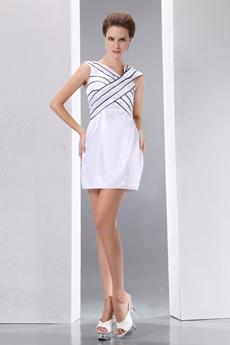 Black & White Cocktail Dress