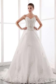 Luxurious Beaded Wedding Dress 2016