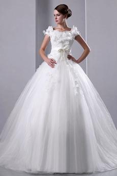 Glamour Off The Shoulder Bridal Dress