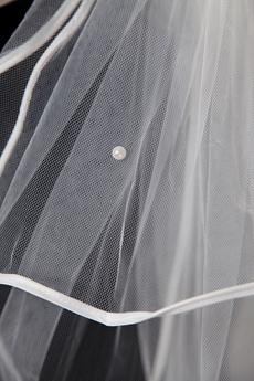 4 Layered Ribbon Wedding Veil