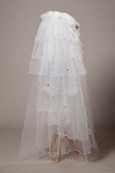 Multi-Tiered Wedding Veil