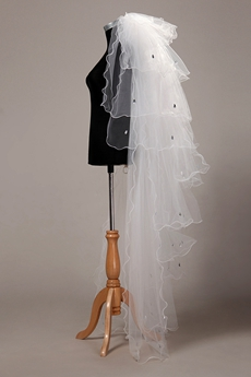 Multi-Tiered Wedding Veil