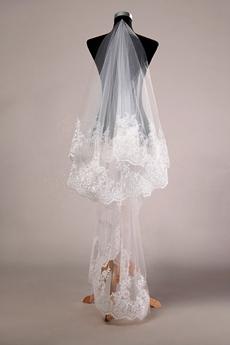 Antique Lace Wedding Veil