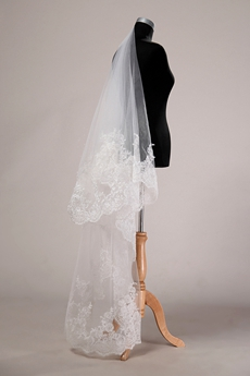 Antique Lace Wedding Veil