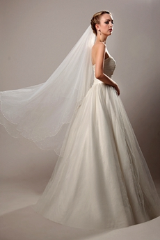 Beautiful Ivory 2 Layered Wedding Veil