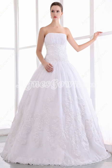 Dreamed Ball Gown Lace Bridal Dress