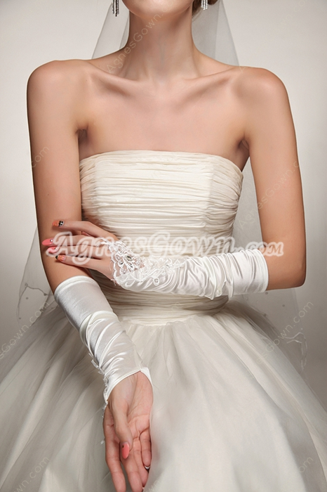 Fingerless Wedding Gloves