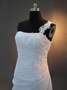 Stunning Straps A-line Beach Wedding Dresses