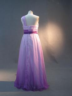 Unique Colorful Plus Size Maxi Wedding Guest Dresses